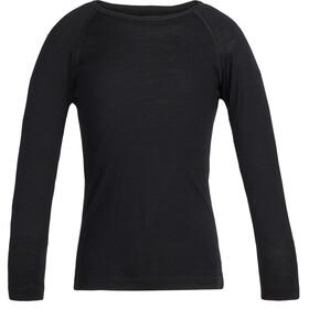 Icebreaker Kids 200 Oasis LS Crewe Shirt Black